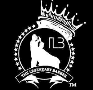 The Legendary Barbershop Logo